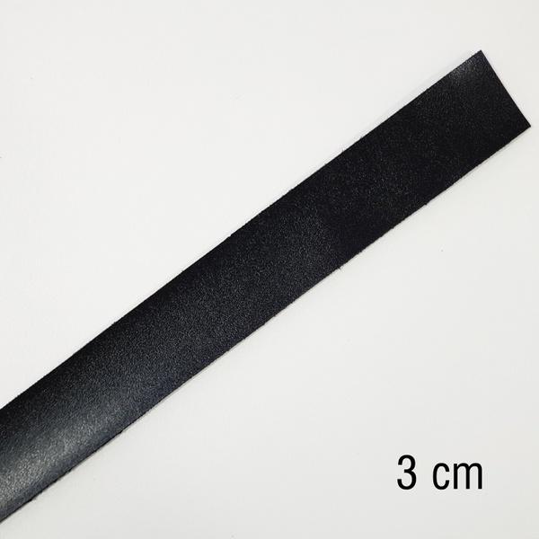 Tira de Montana sintético 1.5 - Preto (3 cm) - T33 - BOUTIQUEDASRENDAS
