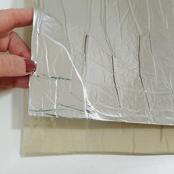 Nylon Dublado Térmico - Bege (0,50 x 1,40mt) - NY-... - BOUTIQUEDASRENDAS