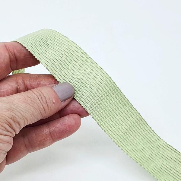 Viés Boneon 25mm - Verde Abacate claro (pacote com... - BOUTIQUEDASRENDAS