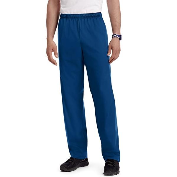 Calça Azul Marinho Scrub em Algodão Brim