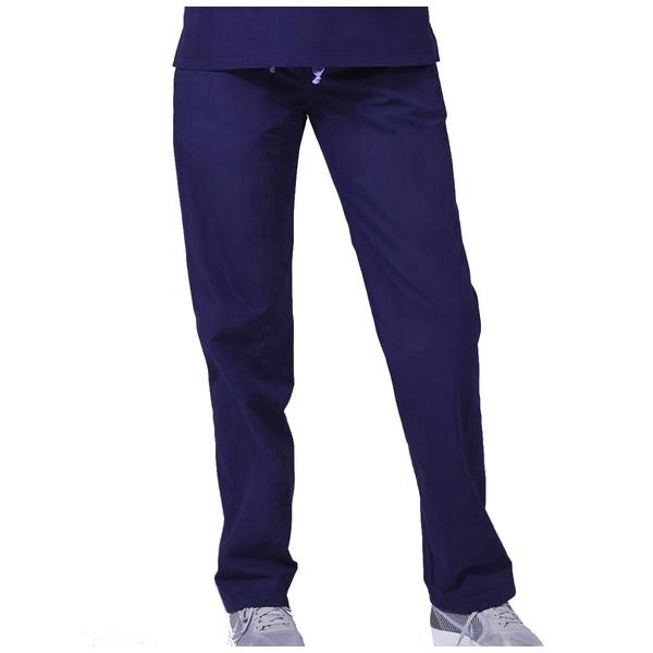 Calça Feminina em Gabardine Azul Marinho