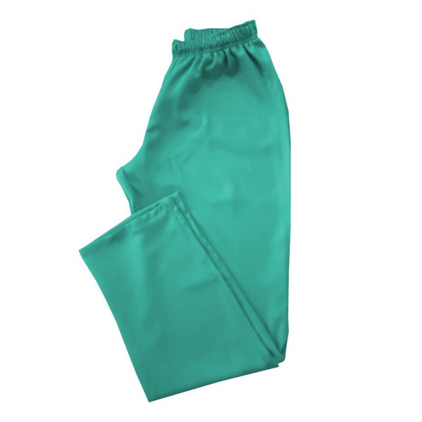 Calça em Gabardine Verde Água