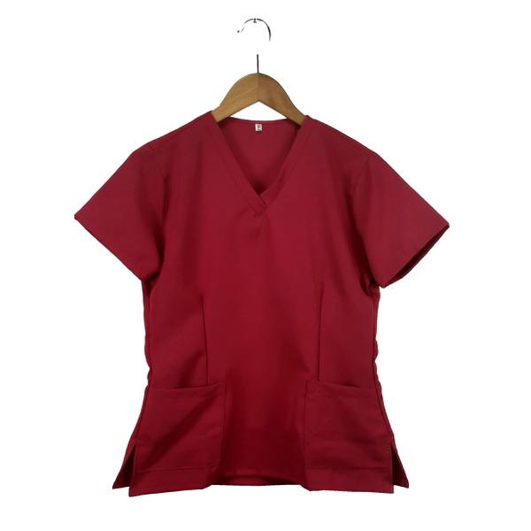 Camisa Scrub Pijama Cirúrgico Rosa PInk
