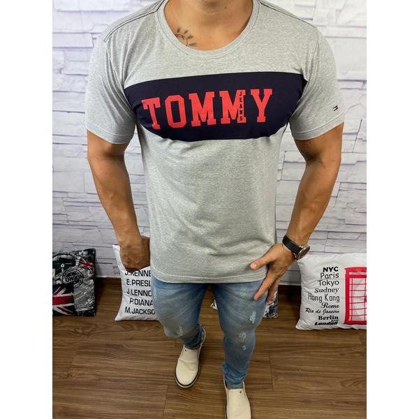 Camiseta Tommy DFC Cinza