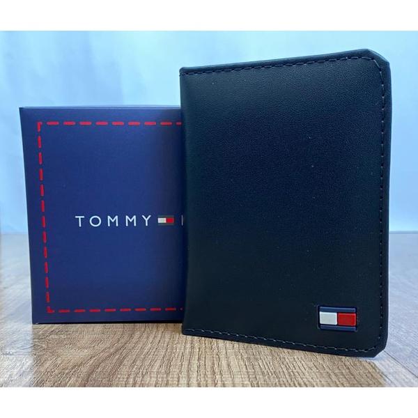 Porta Cartão Tommy Preto