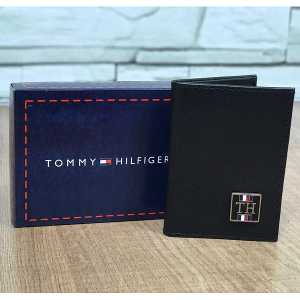 Porta Cartão Tommy Hilfiger Preto