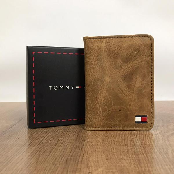 Porta Cartão Tommy Hilfiger - Marrom
