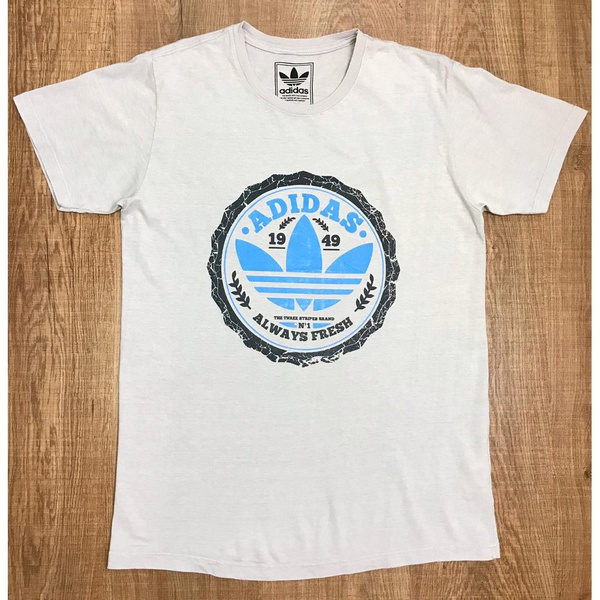 Camiseta Adid Bege⭐