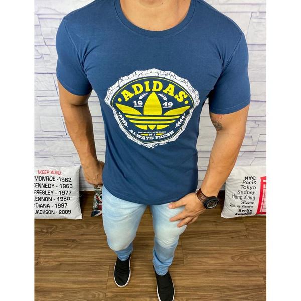 Camiseta Adid Azul Marinho