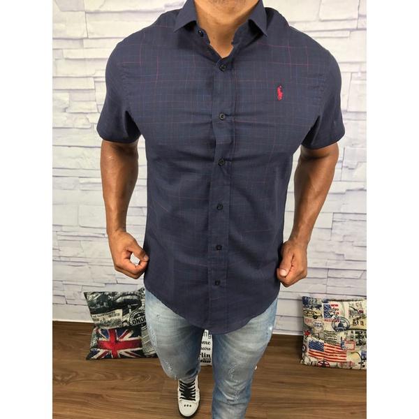Camisa Manga Curta RL