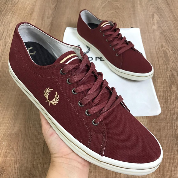 Sapatênis Fred Perry - Marsala