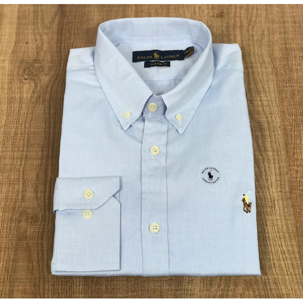 Camisa Manga Longa RL DFC Detalhe Amarelo