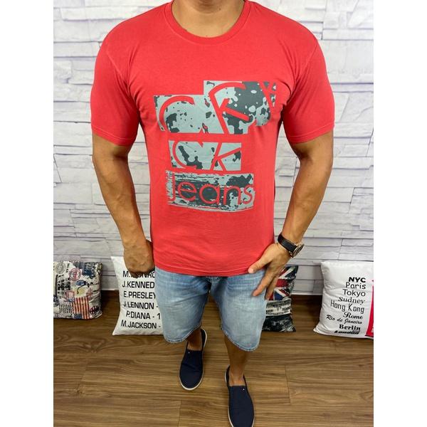 Camiseta CK Vermelho