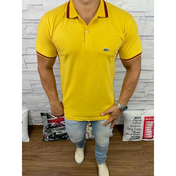 Polo Lct Amarelo
