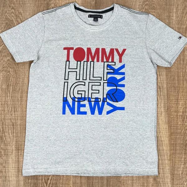 Camiseta TH DFC Cinza