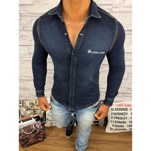Camisa Social Jeans JJ