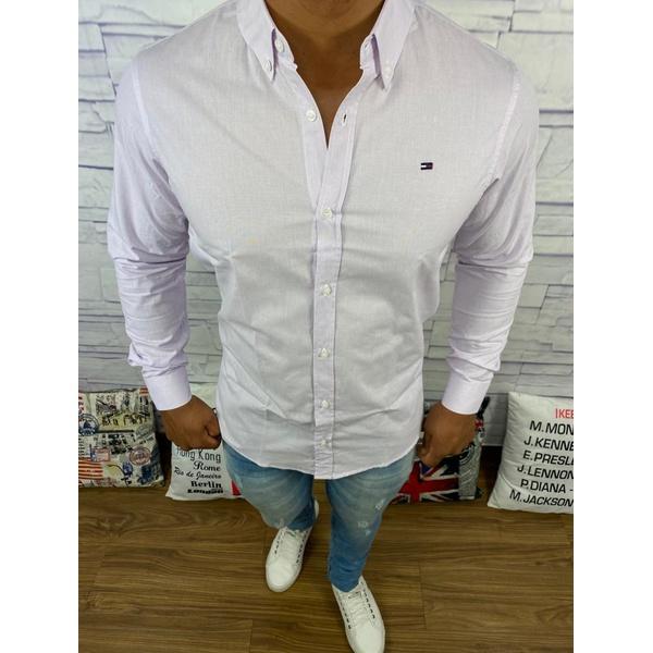 Camisa Manga Longa Tommy - Lilas