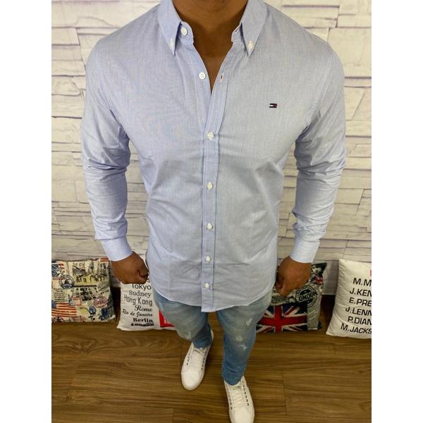 Camisa Manga Longa Tommy - Riscada