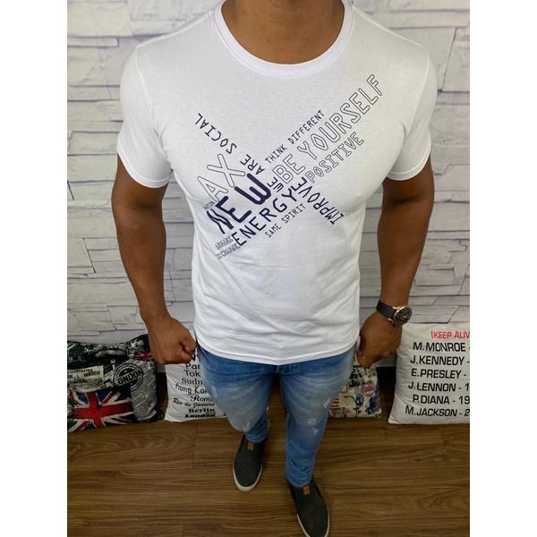 Camiseta Armani Branca⭐