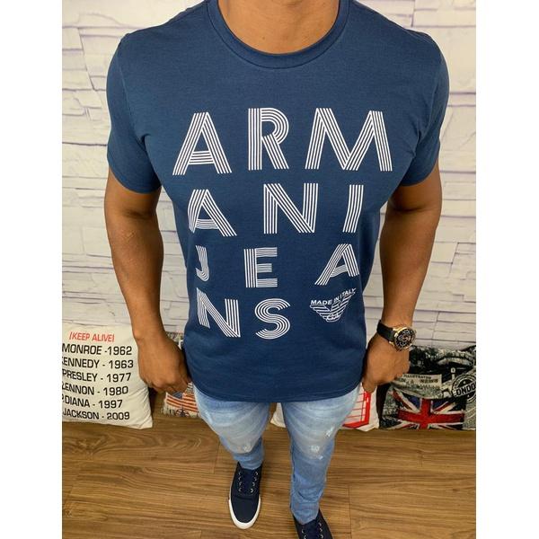 Camiseta Armani Azul Marinho⭐