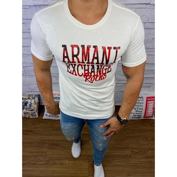 Camiseta Armani Creme