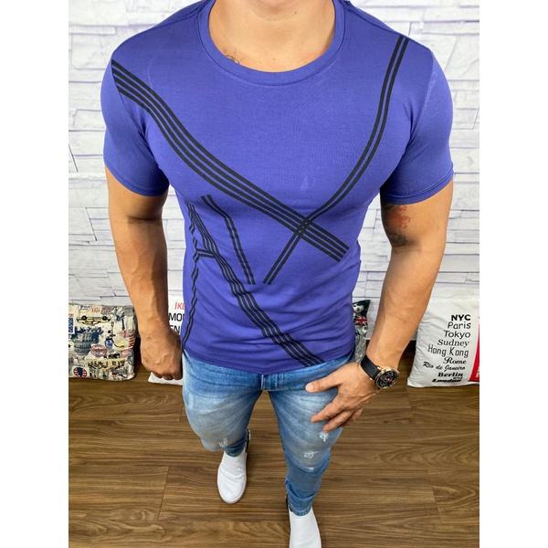 Camiseta Armani Roxa