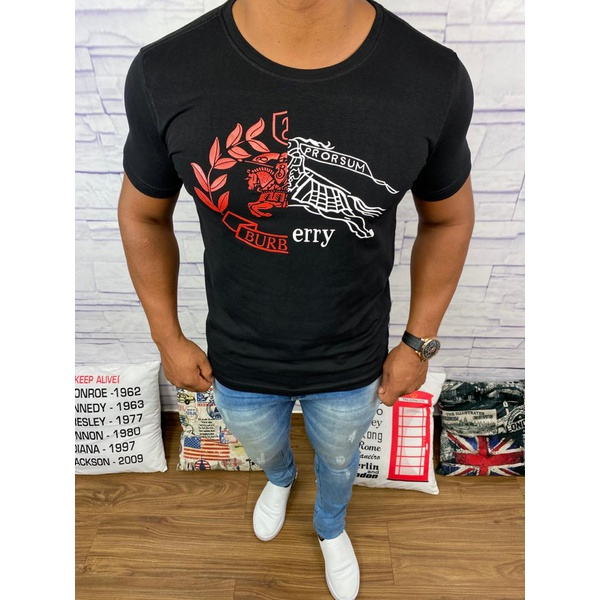 Camiseta Burberry Preta