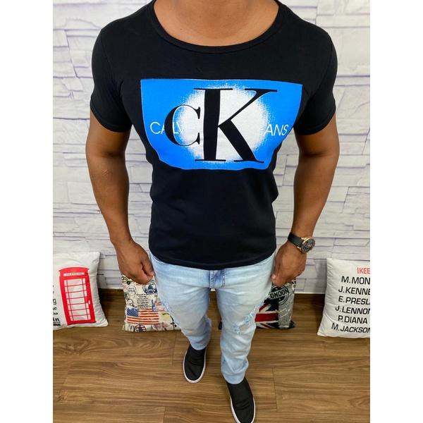 Camiseta Calvin Klein - Preta⭐