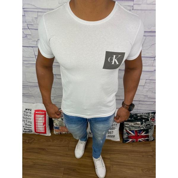 Camiseta Calvin Klein - Branca