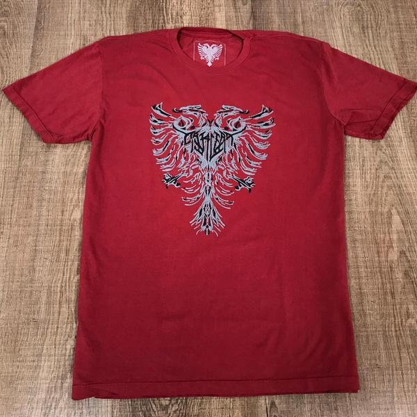 Camiseta Cavalera Vermelho⭐
