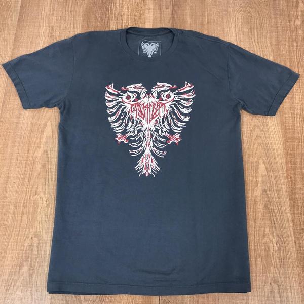 Camiseta Cavalera Cinza⭐