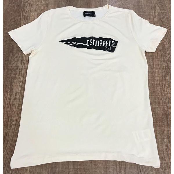 Camiseta Dsquared2 Creme⭐