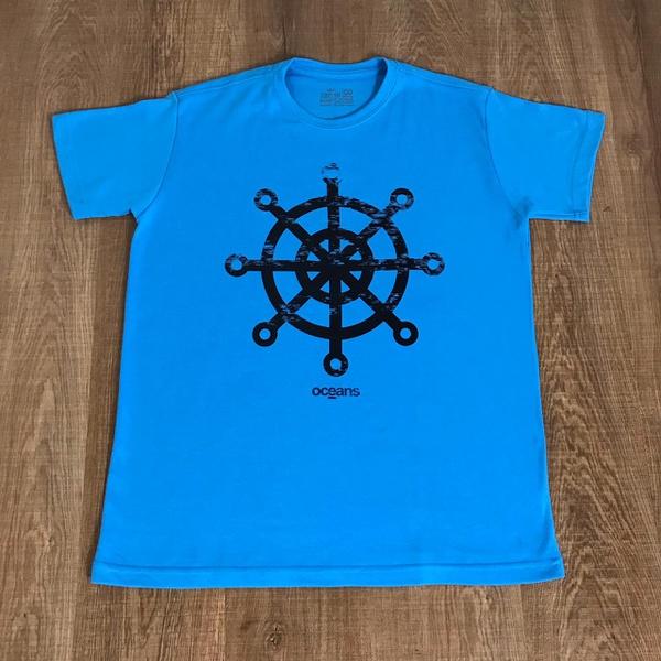 Camiseta Osk Malhão Promo - Azul