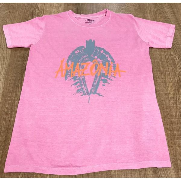 Camiseta Osk Rosa ⭐