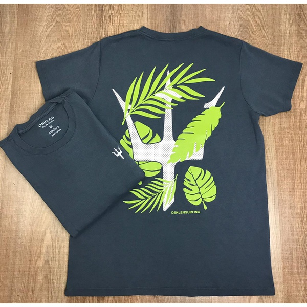 Camiseta Osk - Malhão Cinza⭐