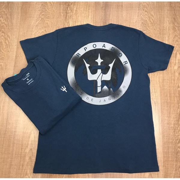 Camiseta Osk - Malhão Azul Marinho⭐