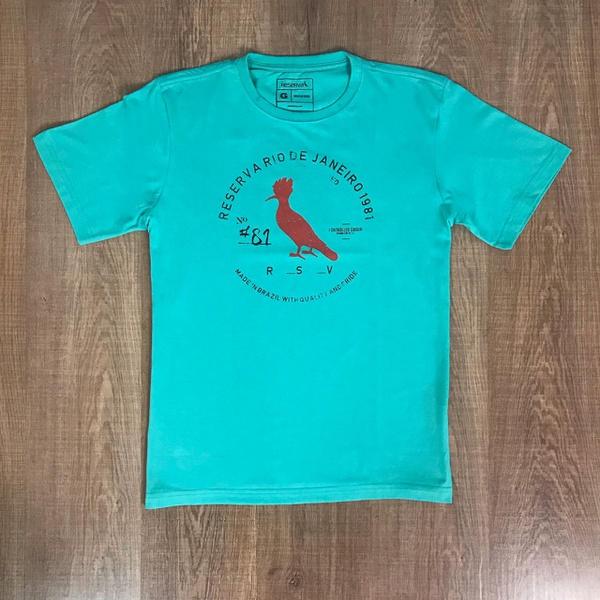 Camiseta Rsv Verde Claro