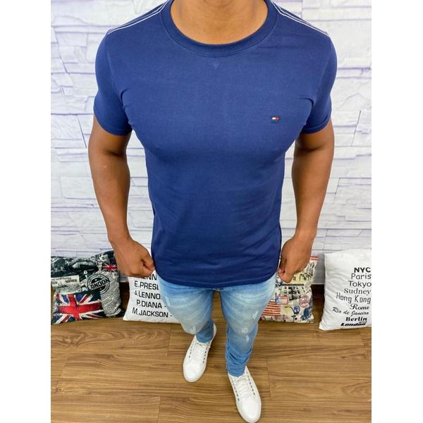 Camiseta Tommy Hilfiger- Azul Marinho