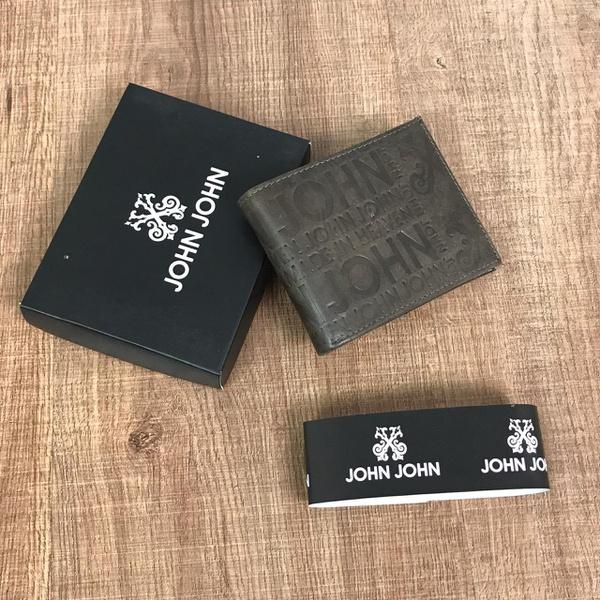 Carteira JJ - Marrom Escuro
