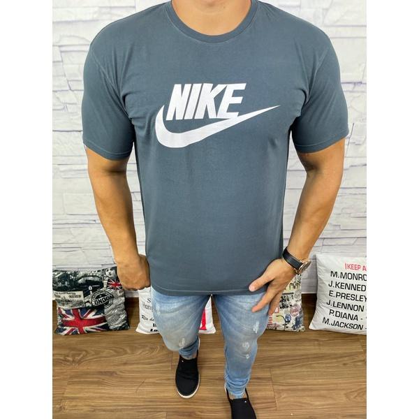 Camiseta Nik Chumbo escuro