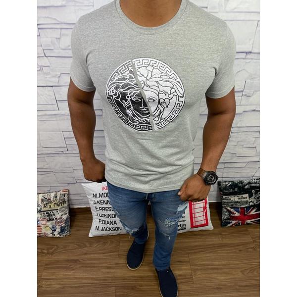 Camiseta Versace Cinza