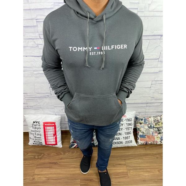 Blusa de Frio Tommy Cinza Escuro