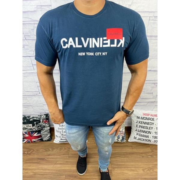 Camiseta CK Marinho