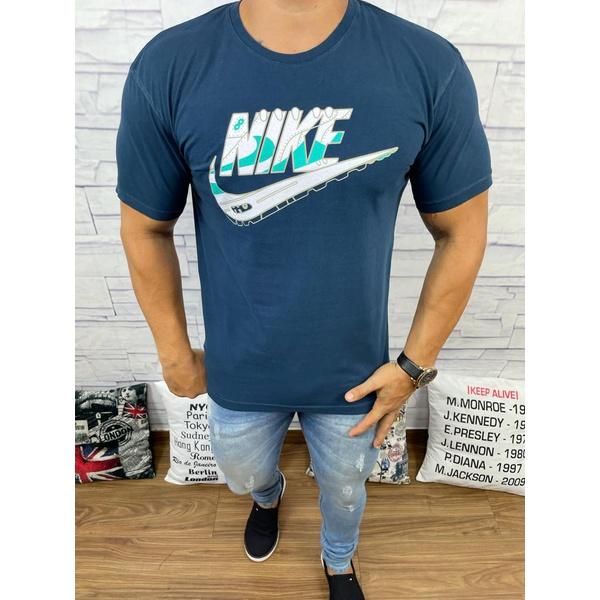 Camiseta Nik Azul Escuro