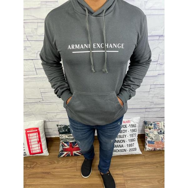 Blusa de Frio Armani Chumbo