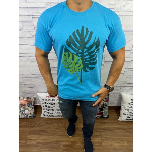 Camiseta Osk - Malhão Azul Claro