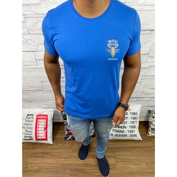 Camiseta Dolce G Azul Aberto