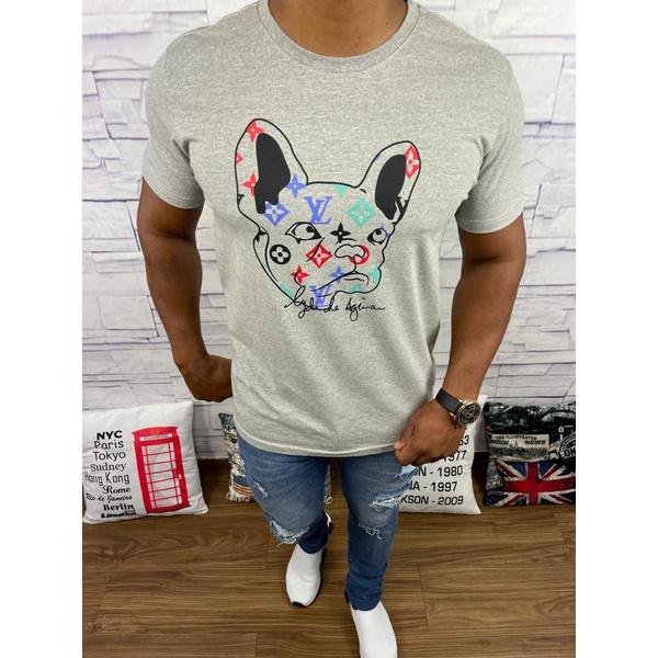 Camiseta Louis Vuitton Cinza⭐