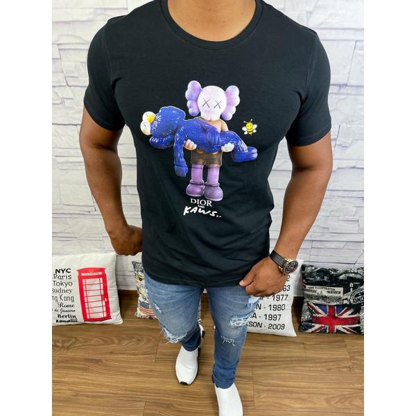 Camiseta Dior - Preta