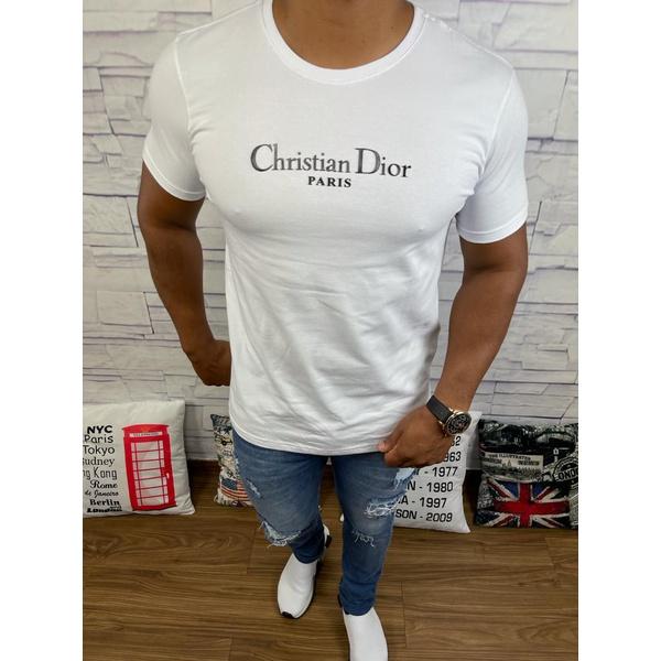 Camiseta Dior Branco